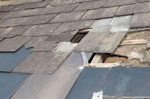 Hail damage roof repair Denver CO