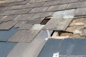 Roof Damage Denver CO